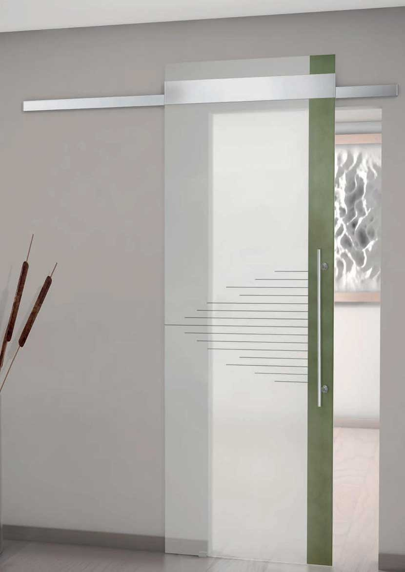 Porte vetrate, porte in vetro, porte in vetro decorato ...