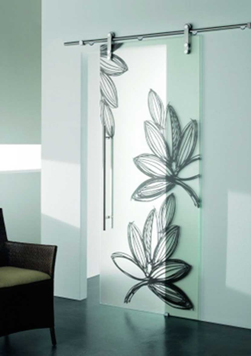 Porte scorrevoli in vetro decorato um89 regardsdefemmes - Porte a vetri decorate ...